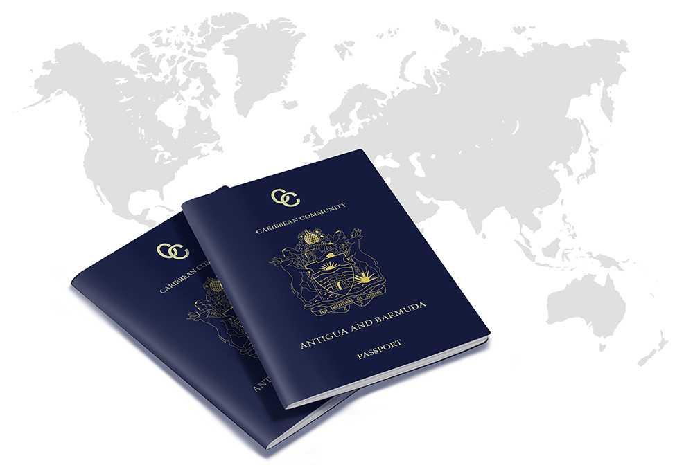 Паспорт Антигуа и Барбуды