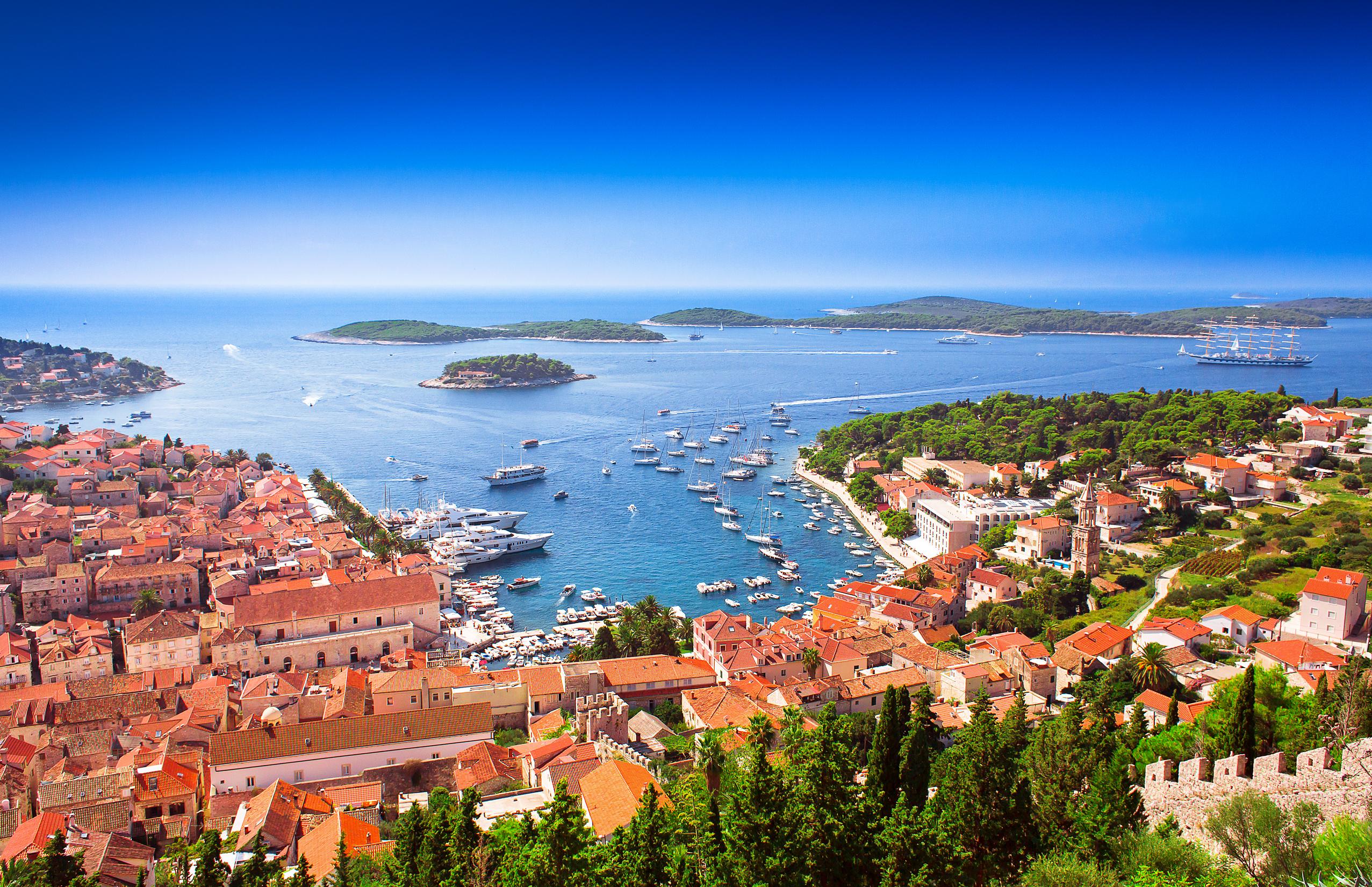 Открытие границы Хорватии