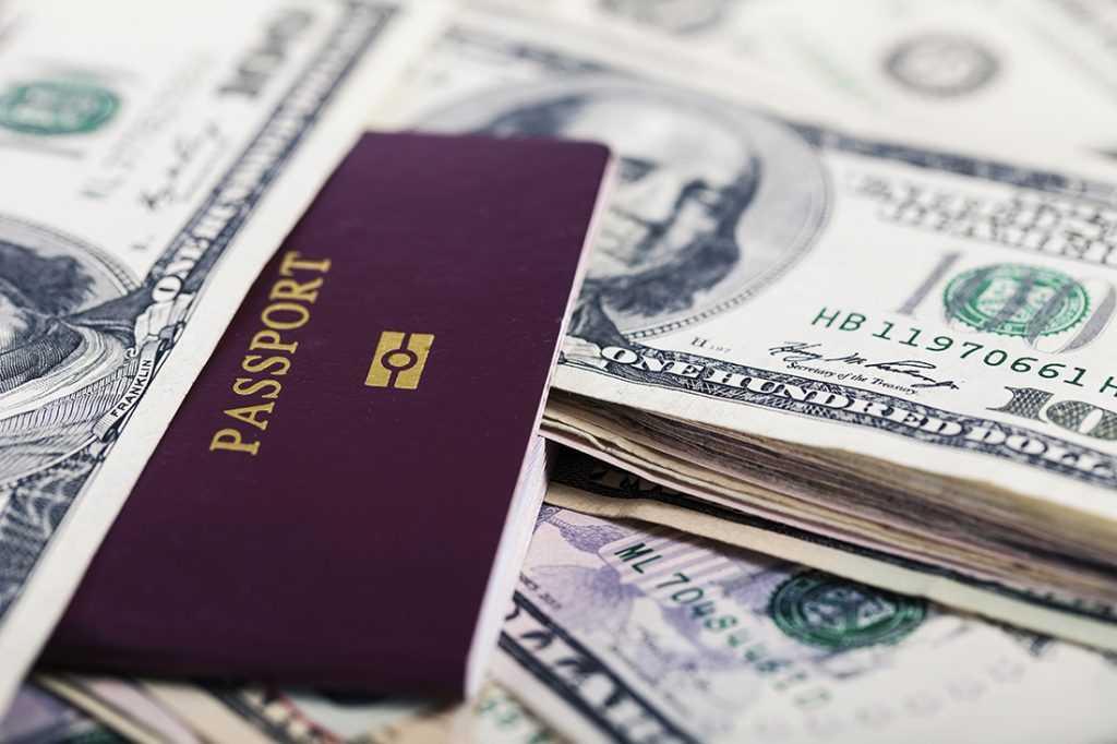 Скандальный  рынок паспортов